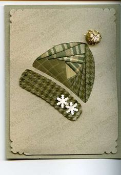 Stocking Hat by JodiAnn - Cards and Paper Crafts at Splitcoaststampers