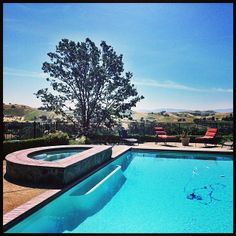 King of the hill! Gorgeous poolside view just minutes outside of #Blackhawk. #Danville #EastBay #luxury #RealEstate #SPARRproperties