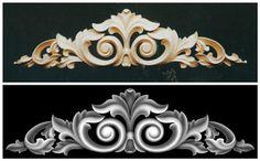 Artcam 3d искусство stl rlf bmp формат рельеф резьба по дереву мода признаки мода двери цветы ofhead цветок