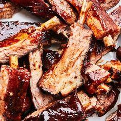 Chinese Five Spice Powder, Pork Rib Recipes, Chef Recipes, Steak Recipes, Duck Sauce, Hoisin Sauce, Most Popular Recipes, Pork Ribs, Barbecued Ribs
