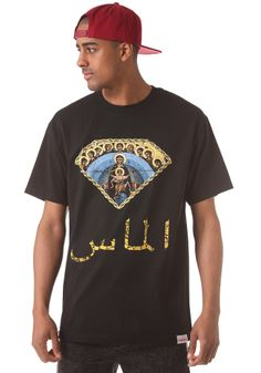#planetsports DIAMOND - Arabic Mary S/S T-Shirt black