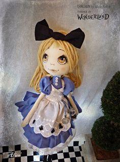 OOAK Art Doll Urchin Alice