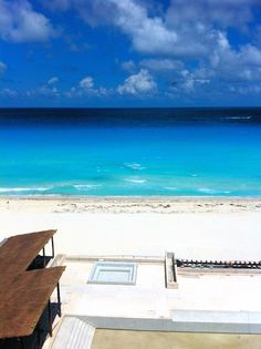 View from the main restaurant at #SecretsResorts The Vine Cancun.