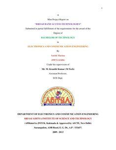 A Summer Field Training Report At Diesel Locomotive Works Varanasi