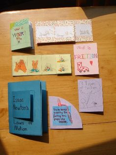 Laws of Motion Lapbook
