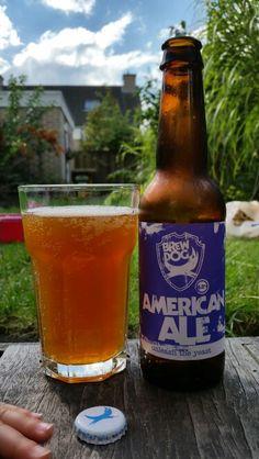 American Ale BrewDog // 6/10 // van 4-pack Unleash the Yeast