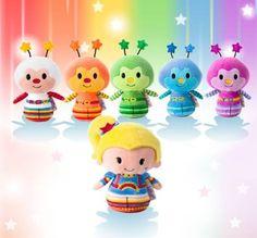 Rainbow Brite Itty Bittys. Hallmark releasing photos of new merchandise.