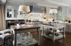 Good morning! Don't get me wrong..I like white kitchens, no make that..I LOVE white kitchens. But I will not lie when I say I am a little t...