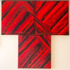 three times red&black