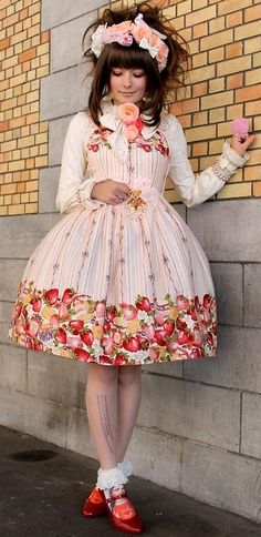 Lolita Fruit Dress
