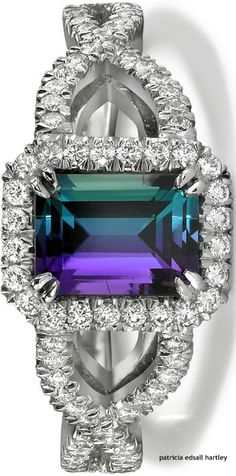 i need this in my life.... Someone please forward this to my guy. https://www.bkgjewelry.com/emerald-pendant/934-18k-white-gold-diamond-emerald-solitaire-pendant.html Alexandrite & Diamond Ring