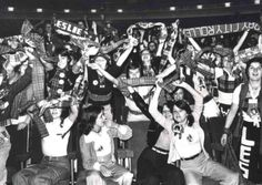 The Bay City Rollers fans in Sheffield Sep 14th 1976 at The City Hall