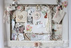 shabby story: where bloggers create… Inspiration board <3 Shabby Chic Cottage