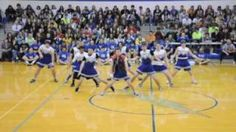 HILARIOUSLY AWESOME DANCE 3 by Carroll Senior Powderpuff Cheerleaders, via YouTube.  song remix dance. This is amazing.