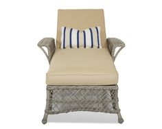 Klaussner Outdoor Outdoor/Patio Willow Chaise W1200 CHASE - Klaussner Outdoor - Asheboro, NC