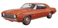 '69 Camaro® ZL-1 Plastic Model Kit 1/25 scale - FROM REVELL. # 85-4056