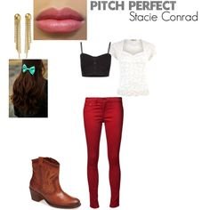 """""""Pitch Perfect-Stacie Conrad"""" by nanabear10 on Polyvore"""