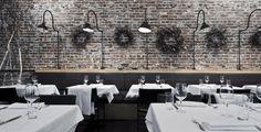 AQ Restaurant San Francisco http://www.yelp.com/biz/aq-restaurant-and-bar-san-francisco - white wash brick = perfect
