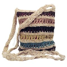 Crocheted Hemp Bag