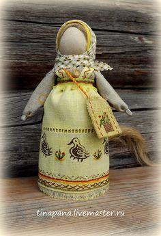 Народные куклы ручной работы.