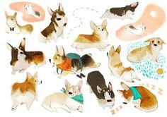 Character Design Collection: Dogs