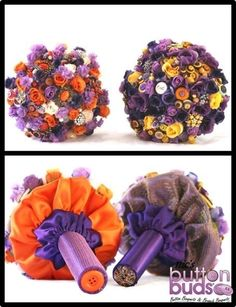 #purple is always a #popular #color when it comes to #bouquets! I #love it with the #yellow and #orange! I also think that the #collars and #handles are #also #amazing! What do you think?  #alternativebouquet #stunning #brooches #sparkles #alternative #wedding #bride #instaweddings #handmade #love #weddingparty #celebration  #bridesmaids  #ceremony #weddingday #broochbouquets #fashion #flowers #australia  www.nicsbuttonbuds.com.au www.facebook.com/nicsbuttonbuds…