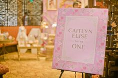 Caitlyn's Chinoiserie Themed Party – Entrance