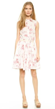 Band of Outsiders Shirtdress with Wrap Skirt | SHOPBOP