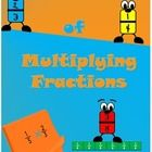 This product contains activities that explain the concept of multiplying fractions using fraction strips. It includes:  -4 sets of fractions strips...