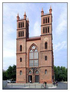 - Berlin, Friedrichswerdersche Kirche, Karl Friedrich Schinkel