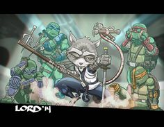 Who's the Master? by Lord Mesa Art Comic Books Art, Comic Art, Lord Mesa Art, Master Splinter, Teenage Mutant Ninja Turtles, Tmnt, Vector Art, Amazing Art, Nerdy