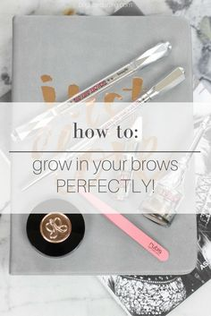 How To Grow In Your Brows Perfectly | How I Grew In My Brows | Benefit Brow Products | Favorite Brow Products | How To Get Thick Full Brows
