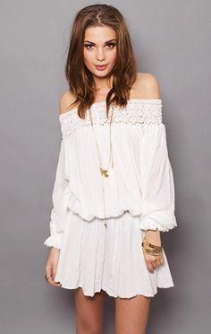 Off Shoulder Summer Dresses