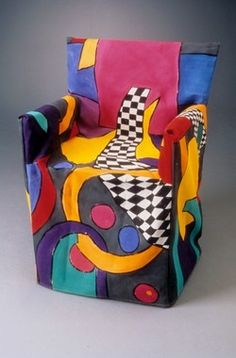 Colorful Chair Cover by Divine Inspirations