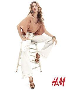 giselehm1 Gisele Bundchen for H&M Spring 2011 Campaign by Daniel Jackson