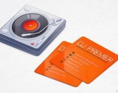 Mixer dj business cards music die cut rounded corners design mini photographer business cards realistic camera square die cut cards design and printing 250 500 1000 2500 free shipping reheart Gallery