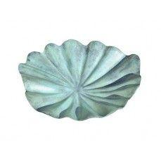 Lily Leaf Birdbath – Large