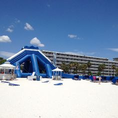 Trade Winds Resort, St. Pete Beach, FL. Spent part of this Christmas break there. Had a fantastic time. No crowds!!