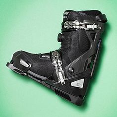 This genius Apex MC-S All Mountain Sport is two boots in one: The snowboard-type boot pops into a stiff chassis and, presto, it's ready to clip into any standard ski.
