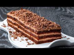 Lahodný domácí koláč. Recept BEZ mouky! Pro všechny milovníky čokolády a kávy!  Cookrate - Czech - YouTube