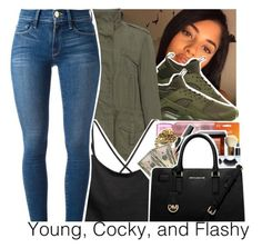"""100+Contest💛LikeThis🈹"" by purplequeen04 ❤ liked on Polyvore featuring NIKE, Zizzi and Frame Denim"