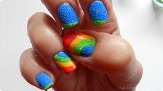 Rainbow Crystal Nail Art  Tutorial: http://www.pupa.it/ita/pupa-nail-academy/Video-nail-academy/rainbow-crystal-nail-art.aspx della mia ultima creazione per PUPA Milano Nail Academy