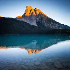 """""""Memories from endless summer days in the Canadian Rockies.  I don't think it looks quite like this right now though ❄️."""""""