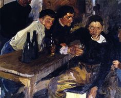 Sorolla y Bastida, Joaquin (1863-1923) - 1910 The Drunkard Zarauz (Private Collection)