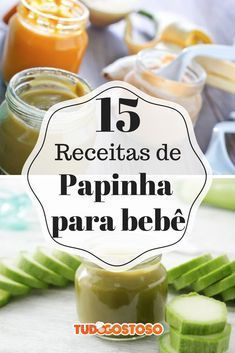 Para os papais e mamães: o TudoGostoso fez uma seleção com 15 receitas deliciosas de papinha de bebê! Vegan Foods, Vegan Recipes, Baby Pop, Baby Puree, Infant Activities, Kids And Parenting, Baby Food Recipes, Yorkshire, Carne