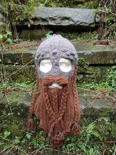 Dwarven Beard and Battle Bonnet | 19 Nerdy Knits You Need To Knit Right Now