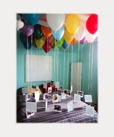 Geschenk Beste Freundin - Sadece balon ve fotoğraflar, . Geschenk Beste Freundin - Sadece balon ve fotoğraflar, . Best 30th Birthday Gifts, Adult Birthday Party, Birthday Diy, Birthday Surprise Ideas For Best Friend, Birthday Ideas For Girlfriend, Birthday Wishes, Ideas For Birthday Gifts, Birthday Ideas For Adults, Present For Best Friend