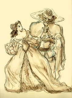 Beauty and the Beast concept art - By Andreas Deja pic.twitter.com/Fh8OOMIGiP