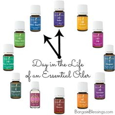 A Day in the Life of An Essential Oiler: Morning to Evening, here is how our family uses Essential Oils! #DIY