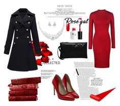 """""""Rosegal in red!"""" by mery-2601 ❤ liked on Polyvore"""